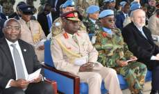 نائب رئيس جمهورية غانا تفقد مقر وحدة بلاده في الجنوب وأكد التزام غانا بلبنان