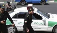 شرطة إيران: مقتل 3 من عناصر الشرطة في اشتباكات مع متظاهرين في طهران