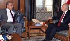 النجاري التقى بري: ستستمر مصر بدعم أشقائها اللبنانيين بكل ما أمكنها