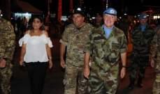النشرة: جنود اليونيفيل يشاركون بنشاطات الكورنيش الجنوبي لصور