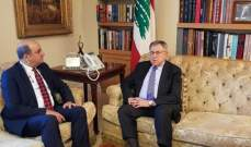 السنيورة التقى السفير التركي