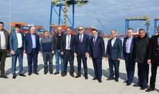 دبوسي: مرفأ طرابلس فعال لكن لا بد للدولة ان تستثمر في طرابلس