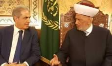 عبد العزيز:أبناء المنية الضنية يقفون صفا واحدا خلف قيادة دريان الحكيمة