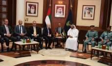 بحثٌ في سبل تعزيز التعاون بين الإمارات وألمانيا في المجالات الشرطية