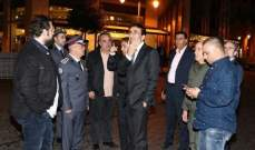 شبيب تفقد ساحة الإحتفال برأس السنة بوسط بيروت: أدعو اللبنانيين للمشاركة
