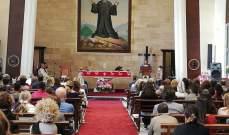 قداس في دير مار شربل درعون بذكرى مولد القديس شربل