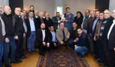 عثمان التقى رئيس بلدية المجدل ووفد شركة منتجة للفيلم المروج لنصف ماراثون قوى الأمن
