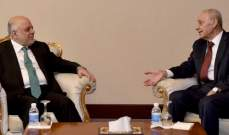 بري يواصل زيارته للعراق ويلتقي العبادي والمالكي وكتلتي الاتحاد الديمقراطي والكردستاني