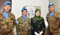 عز الدين عرضت مع قائد القطاع الغربي لليونيفيل التعاون لدعم السكان المحليين