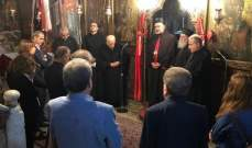 وفد من رابطة قنوبين زار قبرص: إتفاقيات تعاون حول معارض ومتاحف التراث المسيحي