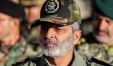 قائد الجيش الايراني: مناوراتنا البرية تحذير للأعداء ليتخلوا عن أفكارهم الفاسدة