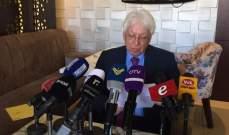 اسماعيل سكرية: هناك خلل اداري فاضح في وزارة الصحة