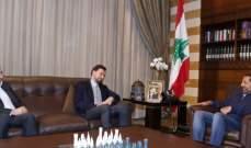 تيمور جنبلاط: تداولنا مع الحريري مسألة تشكيل الحكومة عبر اعتماد معيار ثابت