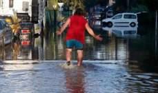 انقطاع التيار الكهربائيبتورنتو بسبب الفيضانات التي اجتاحت المدينة