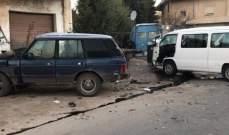 الدفاع المدني: ثلاثة جرحى اثر حادث سير في بدنايل في بعلبك