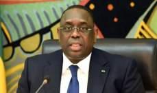 رئيس السنغال: المحادثات مع بوتين ستتناول وضع حجر أساس لتعاون مستقبلي