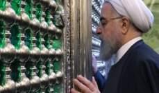 الرئيس الإيراني يصل إلى مدينة كربلاء المقدسة