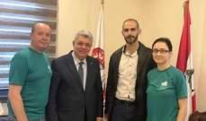 رئيس إتحاد بلديات الضنية عرض مع وفد بولندي منع صيد طائر العرنوق في القضاء