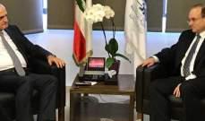 حسن خليل استقبل مساعد وزير الخزانة الاميركية لشؤون مكافحة تمويل الارهاب