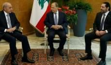 مصادر المستقبل:إجتماع بعبدا يأتي بإطار تيقظ لبنان حيال أي عدوان إسرائيلي