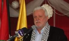 ابو العردات:لم يعد مناسباً لأي فصيل فلسطيني تغطية أي خارج عن القانون بالمخيمات الفلسطينية