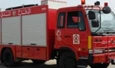 الدفاع المدني: إخماد حريق داخل سيارة رباعية الدفع في ذوق مكايل والأضرار مادية
