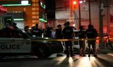 إرتفاع عدد ضحايا إطلاق النار في تورونتو الكندية إلى قتيلين و13 جريحا