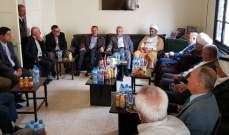 محمد نصرالله التقى رئيس بلدية قليا والأعضاء:الهدف من الترشح حماية المقاومة