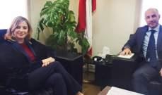 فادي جريصاتي عرض مع افرام لاقتراح إعفاء البلديات من ديونها ومع روكز لقضايا بيئية مختلفة
