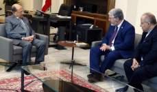 الرئيس عون تابع الاوضاع العامة في البلاد والتطورات الحكومية
