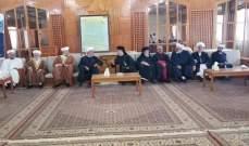 الشيخ محمد الموعد يجول على فعاليات صيدا معايدا بالأضحى المبارك
