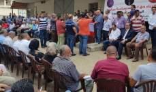 الحراك المدني العكاري اعتصم احتجاجا على تقنين الكهرباء: لإنصاف المنطقة