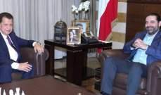 عيتاني زار الحريري: هناك بوادر لولادة الحكومة التي ينتظرها اللبنانيون