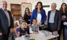 """جمعية """"نور"""" وزعت 4 آلاف مساعدة مدرسية لتلاميذ المدراس الرسمية بحاصبيا ومرجعيون"""
