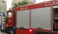 الدفاع المدني: إخماد حريق داخل منزل في حي السلم والأضرار مادية
