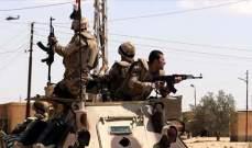 مقتل 5 عسكريين مصريين بينهم ضابط بانفجار لغم استهدف سيارتهم في العريش
