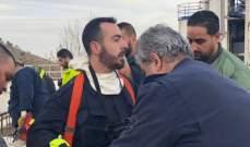 الدفاع المدني انتشل جثة سوري من خزان للاسفلت في عين دارة