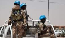الأمم المتحدة: مقتل جنديين من قوات حفظ السلام بانفجار لغم أرضي في مالي