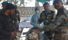 الكتيبة الهندية باليونيفل نظمت حملة تلقيح مجانية ضد داء الكلب