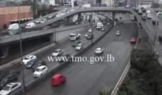 التحكم المروري للنشرة: حركة السير طبيعية داخل بيروت وكثيفة عند مدخليها الشمالي والجنوبي