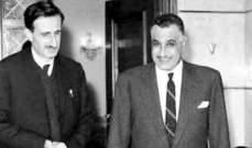 جنبلاط نشر صورة والده مع عبدالناصر: كانت تلك الايام تمثل الحلم العربي وحلم التغيير في لبنان