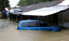 ارتفاع حصيلة ضحايا فيضانات اندونيسيا الى 89 قتيلا