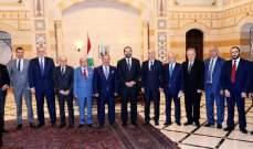 الحريري استقبل وفدا من نقابة الصحافة وعثمان والسفير الأميركية وبستاني