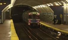 إصابة 10 أشخاص بحادث في مترو بوسطن الأميركية