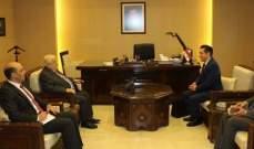 المعلم يتسلم أوراق اعتماد سفير البرازيل سفيرا مفوضا فوق العادة في دمشق