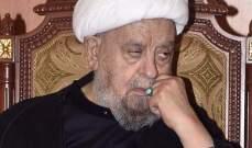 قبلان برسالة الصوم: الاسلام بريء من الارهاب والاجرام والعدوان الذي يسيء الى المسلمين