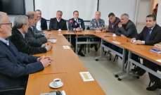 خضر ترأس اجتماعا عرض لإزالة المخالفات في محافظة بعلبك الهرمل