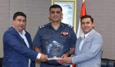 اللواء عثمان تسلّم الجائزة العالمية لمكافحة التقليد والتزوير
