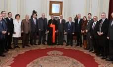 البطريرك الراعي: خسارة لبنان لنظامه الديمقراطي يعني خسارة كل شيء