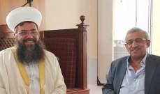 سعد عرض الأوضاع العامة مع الشيخ حسام العيلاني